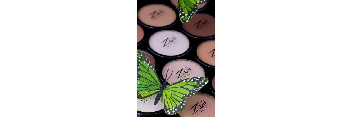 Der ZUII Bio-zertifizierte Make-up Puder...