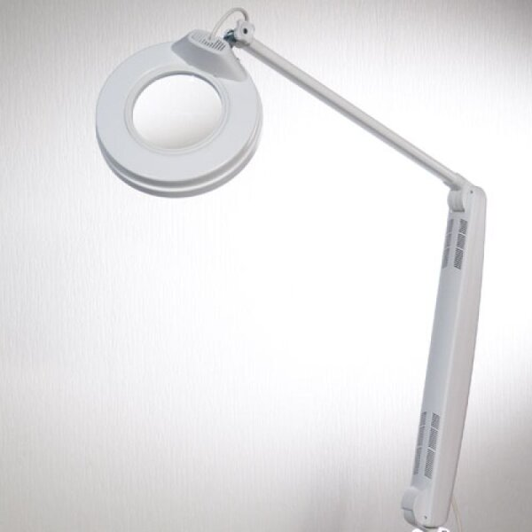 Lupenlampe De Luxe PLUS, 3,5 Dioptrin, weiss
