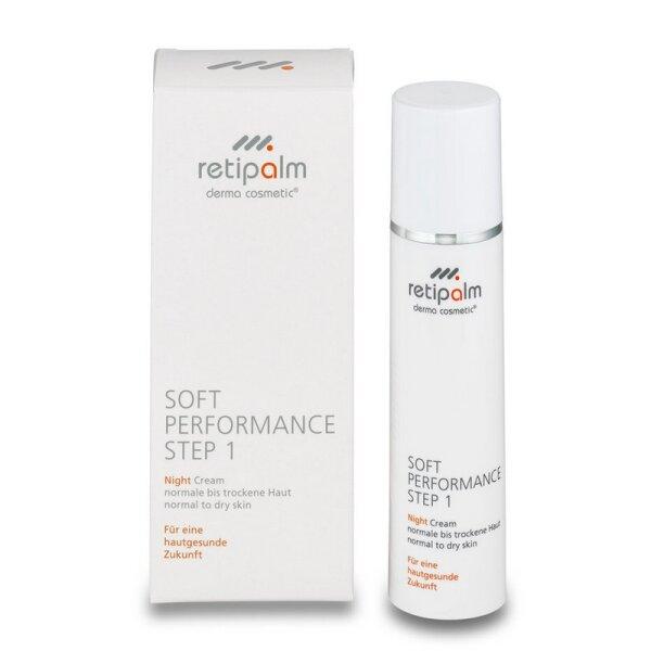 Soft Performance Night Cream 50ml (normal/trocken) Step 1