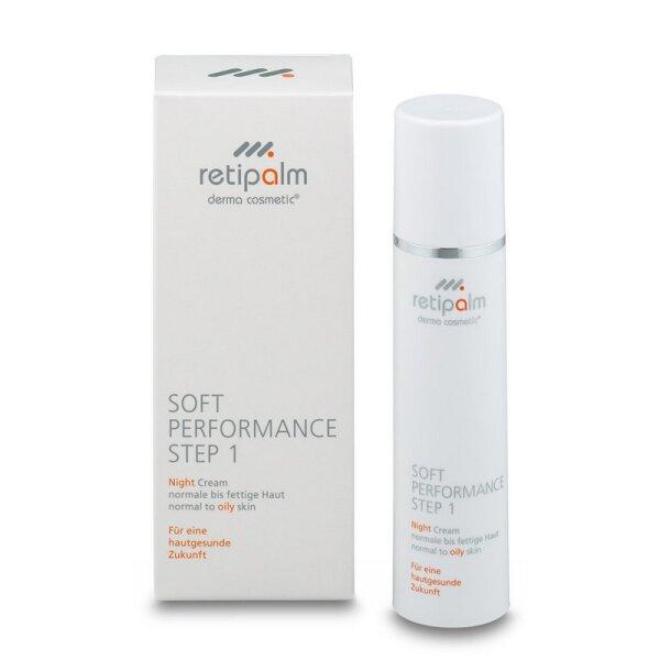 Soft Performance Night Cream 50ml (oily skin) Step 1