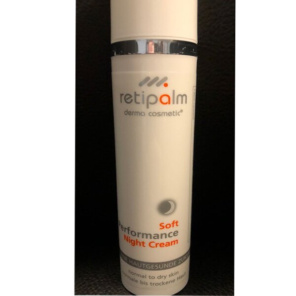 Soft Performance Night Cream 100ml (normal/trocken) Step1  (Kabine)