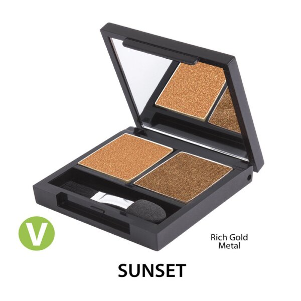 """Eye Shadow Duo-Palette """"Sunset"""""""