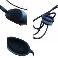Kundenbrille schwarz ( IPL/Laser )