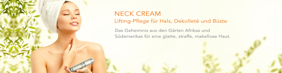 Die Neue Neck Cream von Retipalm